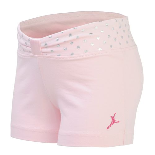Capezio® Girls' Future Star Sweet Hearts Foil Short