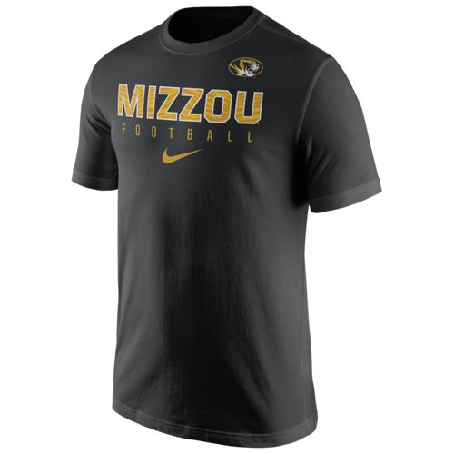 Nike™ Men's University of Missouri Practice Short Sleeve T-shirt