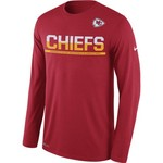 Nike Men's Kansas City Chiefs Team Practice Legend T-shirt