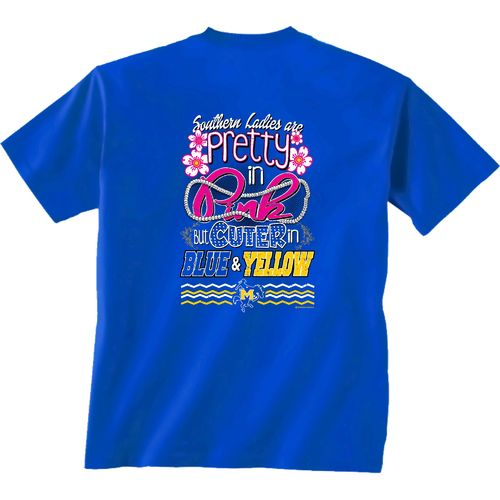 New World Graphics Women's McNeese State University Cuter in Team T-shirt