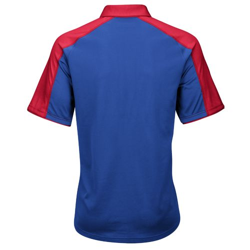 adidas™ Men's University of Kansas Sideline Polo Shirt - view number 2