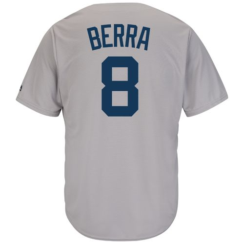 Majestic Men's New York Yankees Yogi Berra #8 Cooperstown Cool Base Replica Jersey