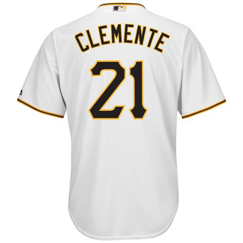 Majestic Men's Pittsburgh Pirates Roberto Clemente #21 Cool Base Replica Jersey - view number 1