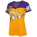 G-III for Her Women's Louisiana State University Pass Rush Fashion Top
