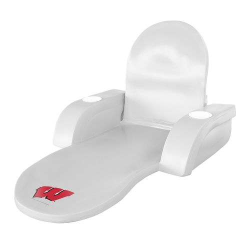 TRC Recreation University of Wisconsin Folding Lounger - view number 1