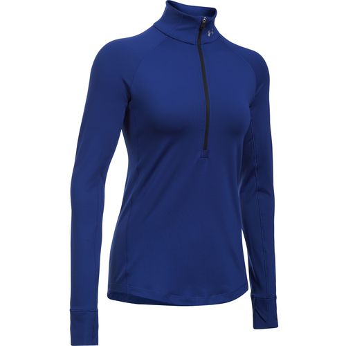 Under Armour Women's ColdGear 1/2 Zip Long Sleeve Pullover - view number 1