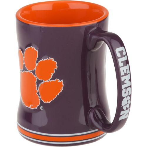 Boelter Brands Clemson University Sculpted Relief 14 oz. Mug