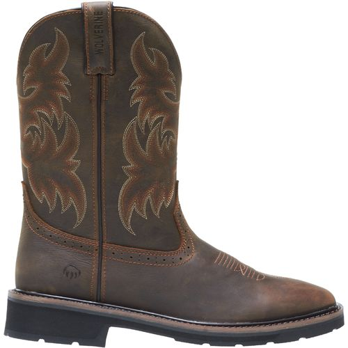 Display product reviews for Wolverine Men's Rancher Wellington Work Boots
