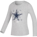Dallas Cowboys Girls' Zamora Long Sleeve T-shirt