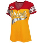 G-III for Her Women's Kansas City Chiefs Pass Rush Mesh T-shirt