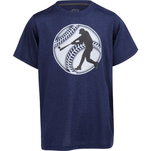 BCG Boys' Glow in the Dark Baseball Short Sleeve T-shirt - view number 1