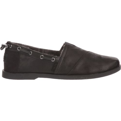 SKECHERS Women's BOBS Chill Luxe Buttoned Up Shoes - view number ...
