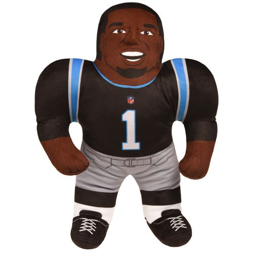 Forever Collectibles™ Carolina Panthers Cam Newton #1 Studd Player Plush