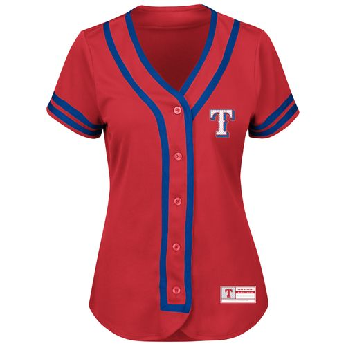Majestic Women's Texas Rangers Absolute Victory Jersey