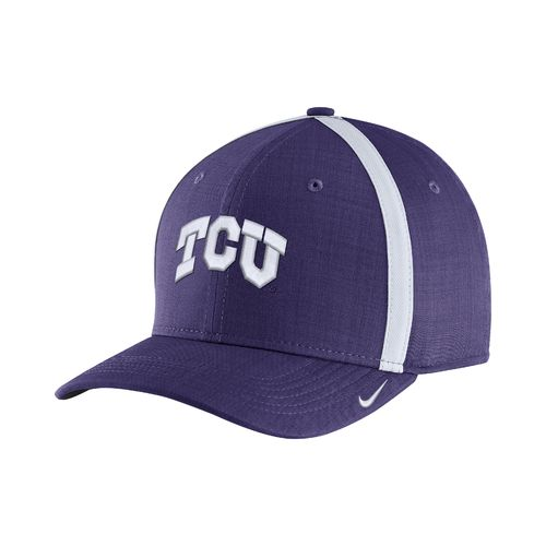 Nike Men's Texas Christian University AeroBill Sideline Coaches Cap