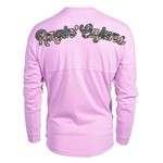 Venley Women's University of Louisiana at Lafayette Hawaiian Spirit Long Sleeve Football T-shirt - view number 1