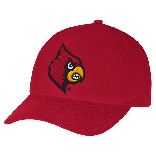 adidas™ Men's University of Louisville Structured Adjustable Cap