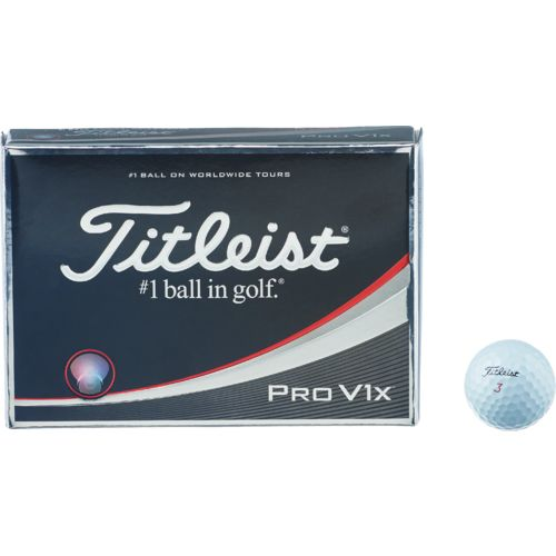 Titleist Pro V1x Golf Balls 12-Pack - view number 6