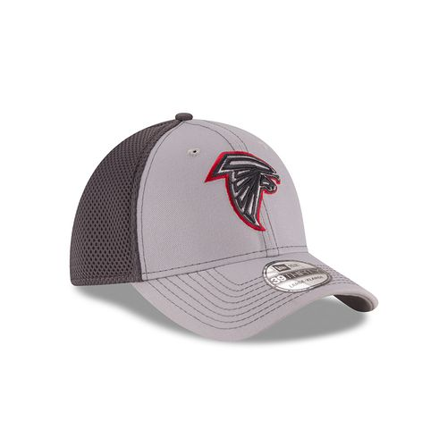 New Era Men's Atlanta Falcons 39THIRTY Grayed Out Neo Cap - view number 3