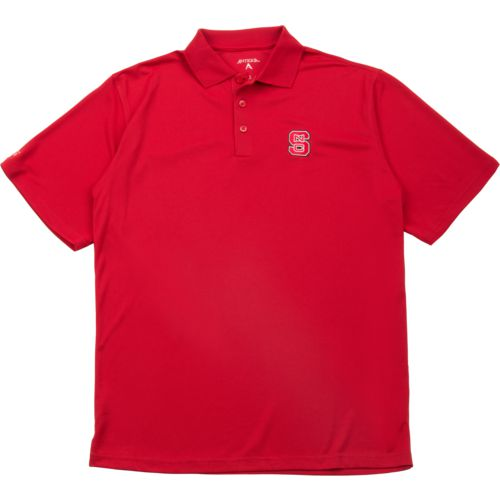 Antigua Men's North Carolina State University Pique Xtra-Lite Polo Shirt - view number 3