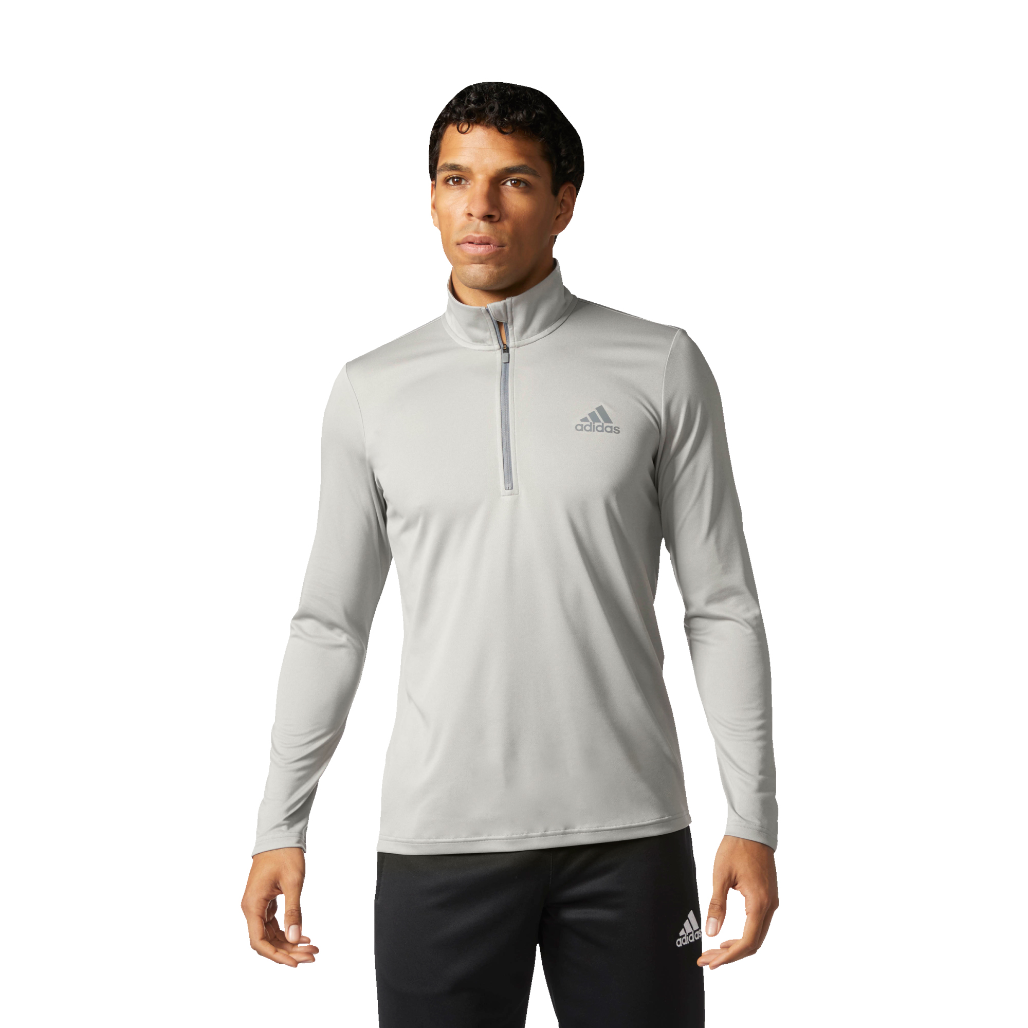 adidas Men's Essentials Tech 1/4 Zip Training Pullover - view number 2