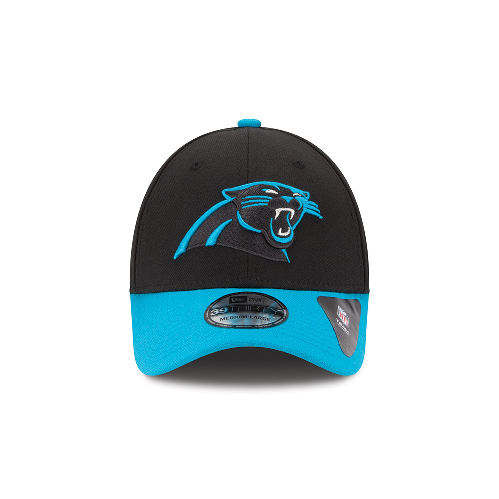 New Era Boys' Carolina Panthers Team Classic 39THIRTY Cap - view number 4