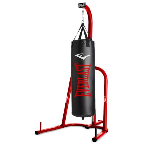 Everlast 60 lb Synthetic Heavy Bag with Stand