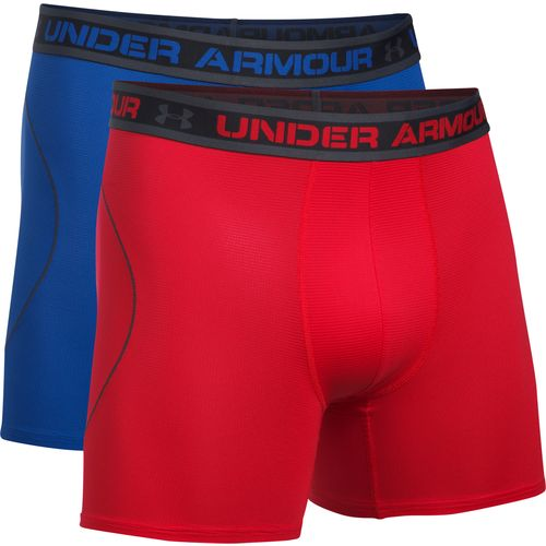 Display product reviews for Under Armour Men's Iso-Chill Mesh 6 in Boxerjock Boxers 2-Pack