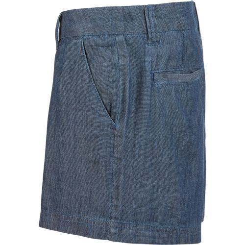 BCG Women's Roughin' It Chambray Shorty Short - view number 4