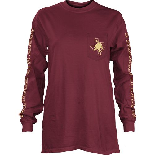 Three Squared Juniors' Texas State University Mystic Long Sleeve T-shirt