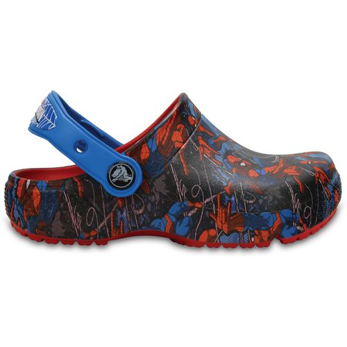 Crocs Boys' Fun Lab Spider-Man Clogs