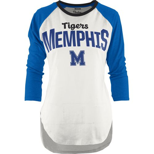 Three Squared Juniors' University of Memphis Quin T-shirt