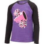 BCG Girls' Cheer Raglan Long Sleeve T-shirt - view number 3