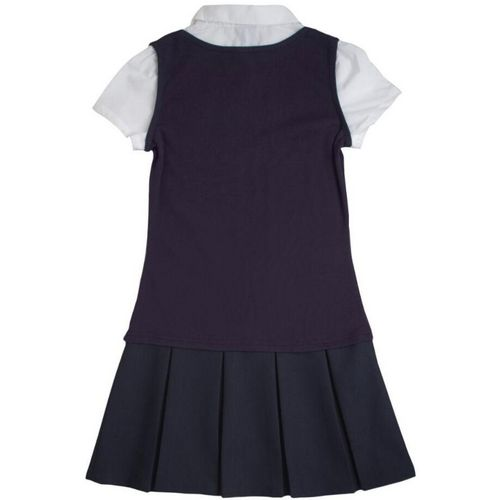 French Toast Toddler Girls' 2-in-1 Pleated Dress - view number 2
