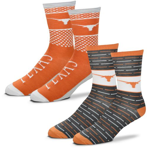For Bare Feet Men's University of Texas Father's Day Socks