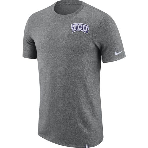 Nike Men's Texas Christian University Dry Marled Patch T-shirt