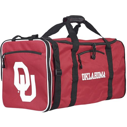 The Northwest Company University of Oklahoma Steel Duffel Bag - view number 1