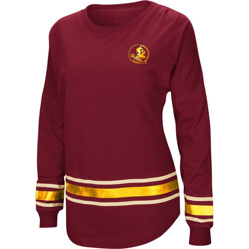 Colosseum Athletics Women's Florida State University Humperdinck Oversize Long Sleeve T-shirt
