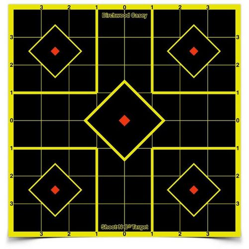 Birchwood Casey Shoot-N-C 12 in Sight-in Targets 5-Pack