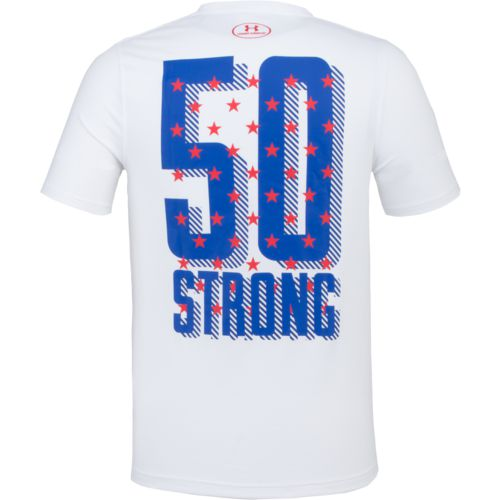 Under Armour Men's Freedom 50 Strong Short Sleeve T-shirt