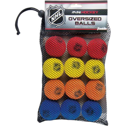 Franklin NHL 2 in Mini Hockey Balls 12-Pack