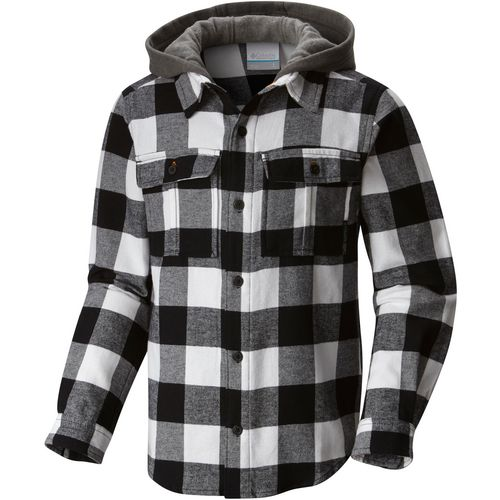 Columbia Sportswear Youth Boulder Ridge Flannel Hoodie