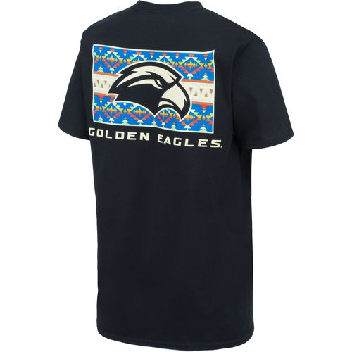 New World Graphics Women's University of Southern Mississippi Logo Aztec T-shirt - view number 2