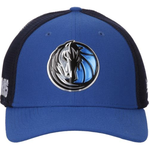 New Era Men's Dallas Mavericks On Court 2-Tone 39THIRTY Cap