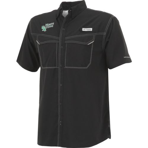 Columbia Sportswear Men's University of North Texas Low Drag Offshore Short Sleeve Shirt - view number 3