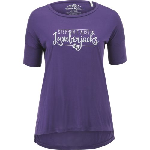 Three Squared Juniors' Stephen F. Austin State University Script T-shirt