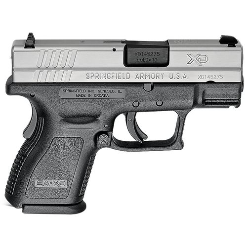 Springfield Armory XD Subcompact CA Compliant 9mm Luger Pistol