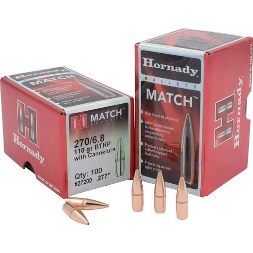 Display product reviews for Hornady BTHP 6.8mm 110-Grain Bullets with Cannelure