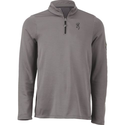 Browning Men's Buckmark Pitch 1/4-Zip Pullover