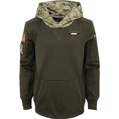 Nike Boys' Houston Texans Salute to Service Hoodie